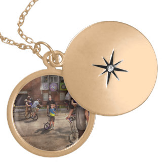 Unicyclist - Unicycle training camp Necklace