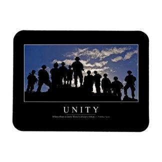 Unidad: Cita inspirada 2 Imán Rectangular