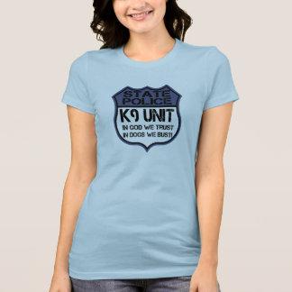 Unidad de la policía K9 del estado en dios Camisetas