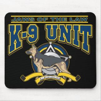 Unidad de la policía K-9 Alfombrillas De Ratones