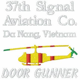 Unidad del artillero de la puerta de Vietnam UH-1 Polo Bordado