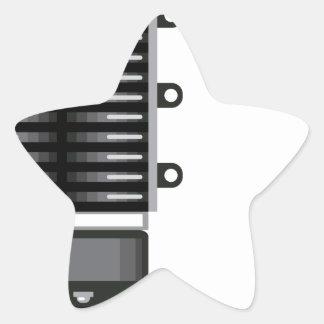 Unidad del sobrealimentador pegatina en forma de estrella