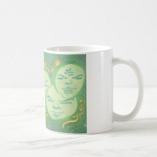 Unidad espiritual tazas de café
