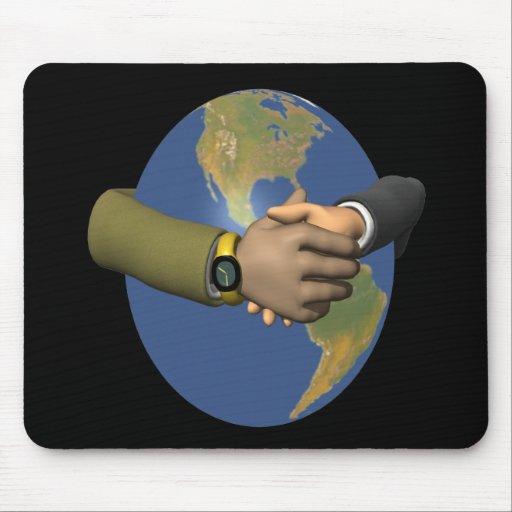 Unidad global alfombrillas de ratón
