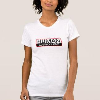 Unidad humana del carbono camisetas