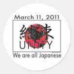 Unidad Japón Etiqueta