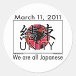 Unidad Japón Etiquetas