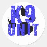 unidad k9 etiquetas