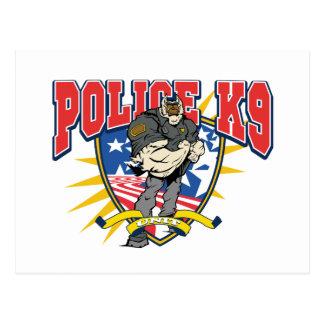 Unidad patriótica de la policía K9 Postales