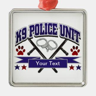 Unidad policial personalizada K9 Ornamento De Reyes Magos