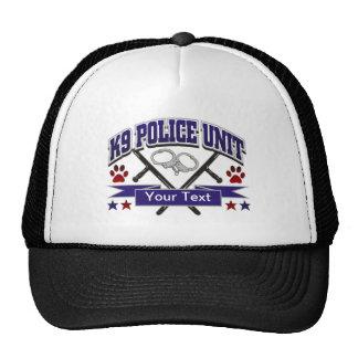Unidad policial personalizada K9 Gorra