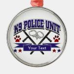 Unidad policial personalizada K9 Ornato