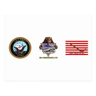 Unidad Pre-Que encarga de SSN 781 PCU California Tarjeta Postal