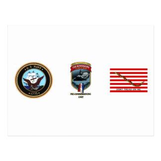 Unidad Pre-Que encarga de SSN 782 PCU Mississippi Tarjetas Postales