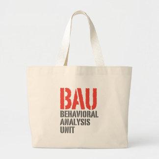 Unidades del análisis del comportamiento de BAU Bolsa Tela Grande