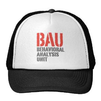 Unidades del análisis del comportamiento de BAU Gorra