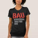 Unidades del análisis del comportamiento de BAU Camiseta