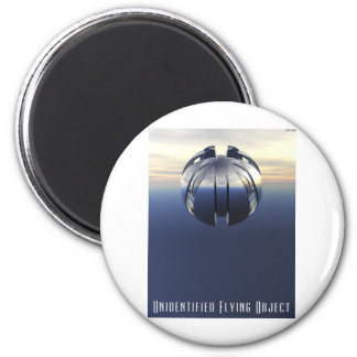 Unidentified Flying Object 2 Inch Round Magnet