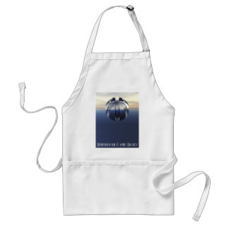 Unidentified Flying Object Adult Apron