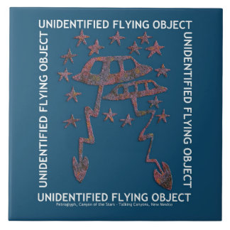 Unidentified Flying Object Ceramic Tile