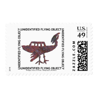 Unidentified Flying Object Postage Stamp