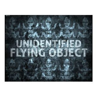 Unidentified Flying Object Postcard