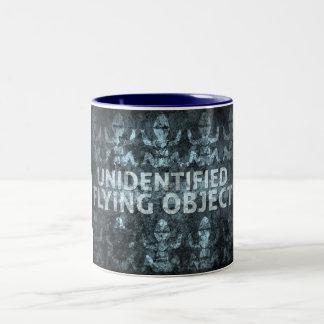 Unidentified Flying Object Two-Tone Coffee Mug