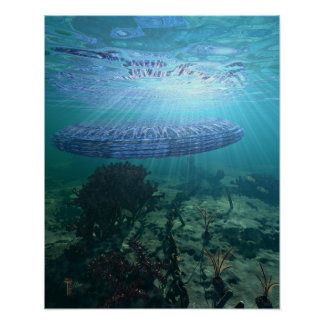 "Unidentified Submerged Object 16"" x 20"" Art Print"