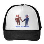 Unido colocamos el gorra