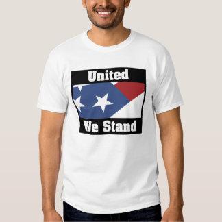 Unido colocamos la camiseta playera