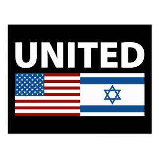 Unido con Israel Postales