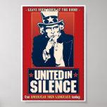 Unido en el silencio (ASL) Poster