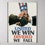 Unido ganamos uniones posters