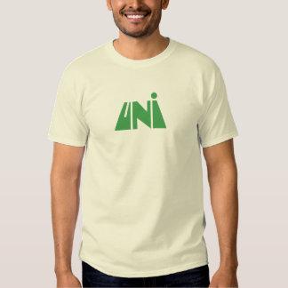 Unido (Green logotipo) Playeras