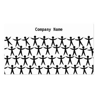 Unido nombre de People Company Tarjetas Personales