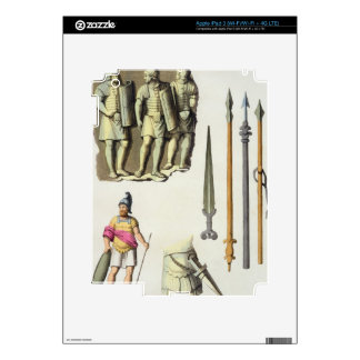 Uniform and weapons of Roman legionaries, from 'Le Skins For iPad 3