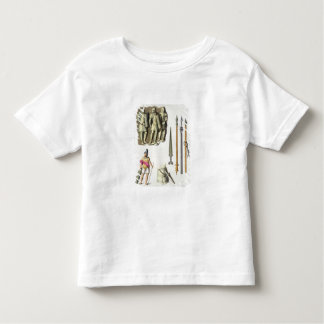 Uniform and weapons of Roman legionaries, from 'Le Toddler T-shirt