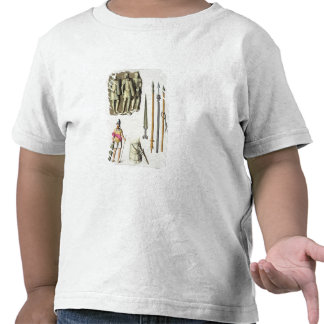 Uniform and weapons of Roman legionaries, from 'Le Tee Shirt