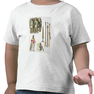 Uniform and weapons of Roman legionaries, from 'Le Tshirts