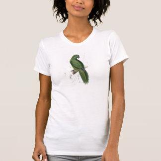 Uniform Parrakeet by Edward Lear T-Shirt