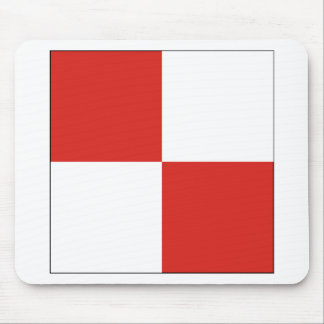 Uniform (U) Signal Flag Mouse Pad