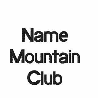 Uniforme bordado del club del nombre comercial de polo enbordado