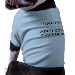 Uniforme canino del perrito de la unidad del Anti- Camisa De Perro