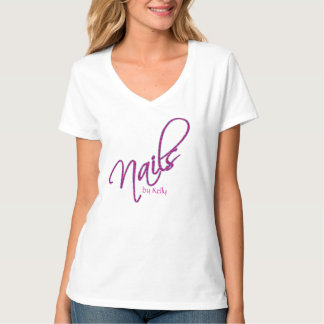Uniforme de la camiseta del salón del clavo remeras