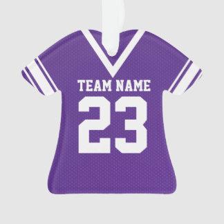 Uniforme de la púrpura del jersey del fútbol