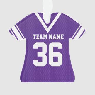 Uniforme de la púrpura del jersey del fútbol con l