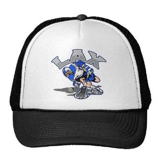Uniforme del azul del jugador de LaCrosse Gorro De Camionero