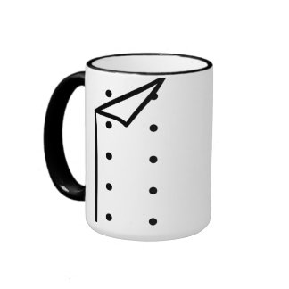 Uniforme del cocinero taza de dos colores