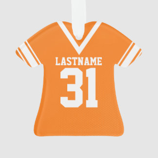Uniforme del naranja del jersey del fútbol