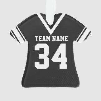 Uniforme del negro del jersey del fútbol